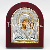 Казанская икона Божией Матери, 10х13 см.