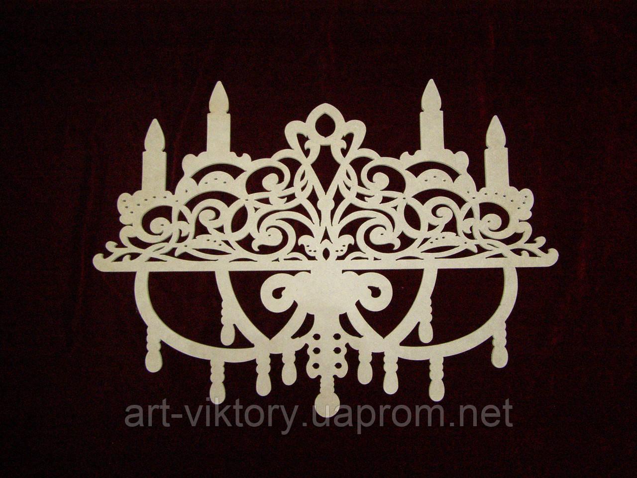 Люстра декоративна (55 х 40 см), декор