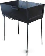 Мангал-чемодан (раскладной, вмещает 8 шампуров)