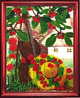 """Набор для вышивания бисером """"Вишневый сад"""""""