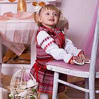 Український костюм трійка (тканий)