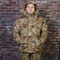 зимняя мужская куртка для охоты и рыбалки