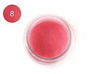 Цветная акриловая пудра 3D, для лепки, #008 Пастельный лиловый, Velena, 5г