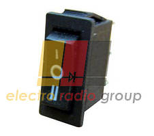YL202-03 (KCD3-101)Перемикач 1-клав.перкідний чорний