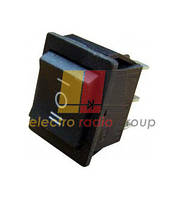 YL206 (KCD4-101)Перемикач 1-клав.перкідний чорний