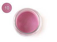 Цветная акриловая пудра 3D, для лепки, #010 Светлый клубничный, Velena, 5г