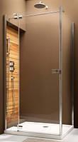 Душевая дверь AQUAFORM VERRA LINE 90 103-09381P левосторонняя монтаж со стенкой