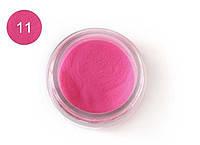 Цветная акриловая пудра 3D, для лепки, #011 Малиновый, Velena, 5г