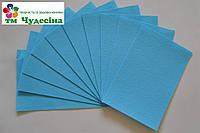 Фетр 1мм 50*40 голубой, фото 1
