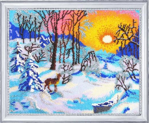 """Набор для вышивания бисером """"Зимнее утро"""", фото 2"""