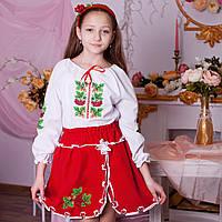 Вишитий костюм Калина (2-11років), фото 1