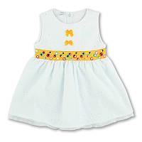 Детское платье для девочки, на рост- 86, 92, 104, 110, 122 см. (арт.7-28)