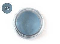 Цветная акриловая пудра 3D, для лепки, #013 Голубой, Velena, 5г