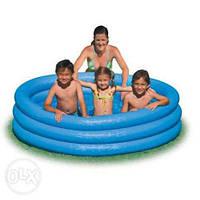 Надувной детский бассейн Intex 168 см *46 см