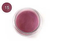 Цветная акриловая пудра 3D, для лепки, #015 Фиалковый, Velena, 5г