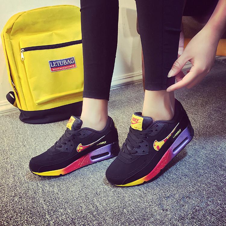 e6defab1 Кроссовки Nike Air Max 90 Black Color Черные женские - SportBoom.com.ua -