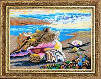 """Набор для вышивания бисером """"Морские ракушки"""""""
