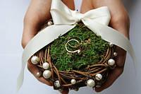 Свадебная корзинка-гнездышко для колец