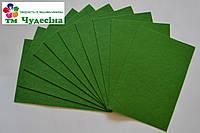 Фетр 3 мм 20*30 темно-зелёный, фото 1
