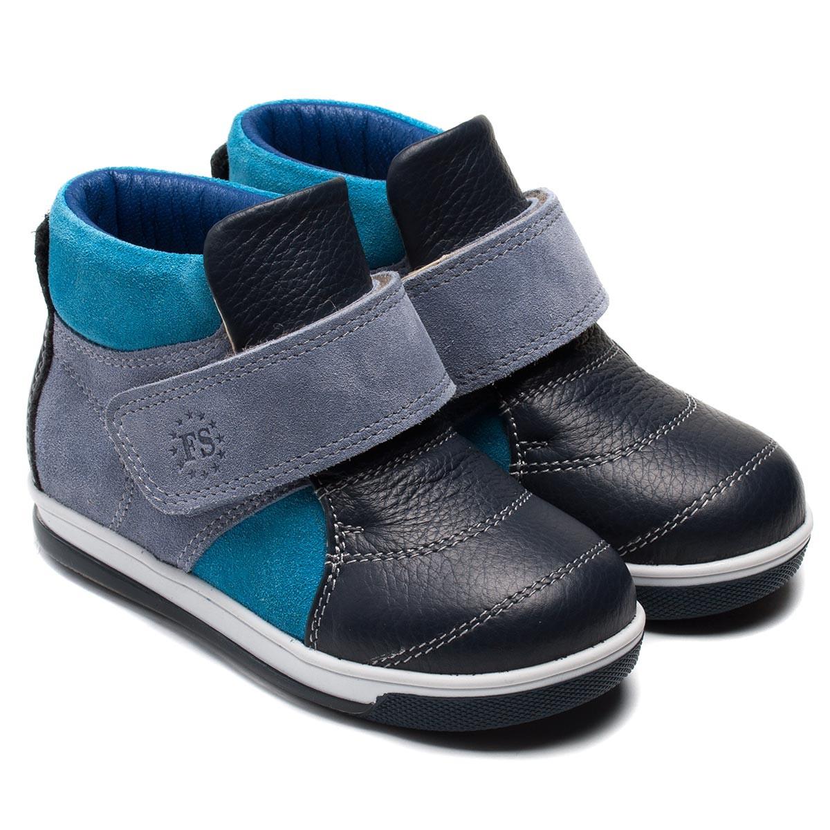 Демисезонные ботинки FS Сollection для мальчика, размер 20-30
