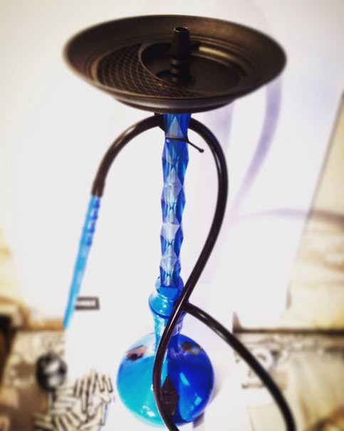 Кальян Wazzer Cristal, синий