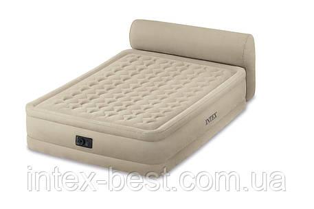 Intex 64460 - надувная кровать Queen Headboard 229x152x79см, фото 2