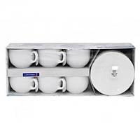 Набор чайный 220мл-12пр Luminarc Diwali белый D8222