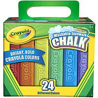 Мелки для асфальта/тротуара Crayola