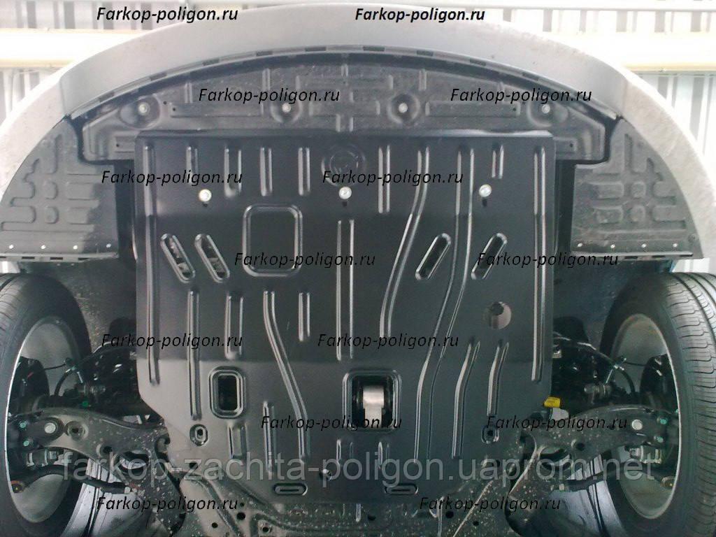Защита картера HYUNDAI Sonata v-2,4  c-2016г.