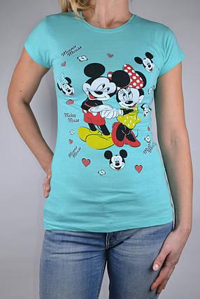 Футболка Minnie Mouse Бирюза (W864/8) | 4 шт., фото 2