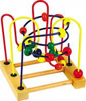 Деревянная игрушка Пальчиковый лабиринт №3 Д072