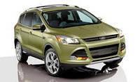 Защита переднего бампера Ford Kuga (2013+)
