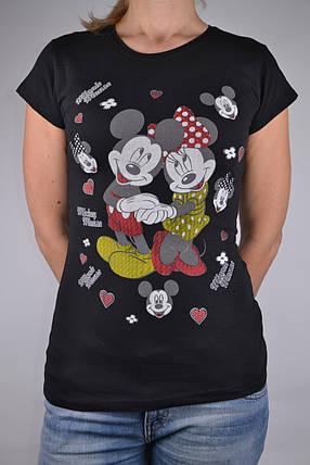 Футболка Minnie Mouse Черная (W864/9)   4 шт., фото 2