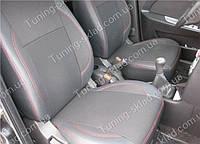 Чехлы на сиденья Заз Форза (чехлы из экокожи Zaz Forza стиль Premium)