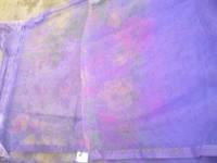 Антимоскитная шторка на магнитах размер 210х110см фиолетовая