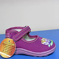 Текстильная обувь для девочки Польша Viggami 21р(13см стелька)