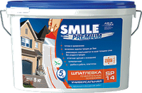 Шпатлевка Smile SP-14 Premium Универсальная 5кг