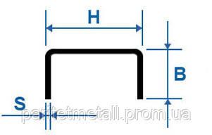 Швеллер гнутый  равнополочный  70х60х4