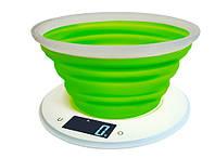Весы кухонные Adler AD 3153 green
