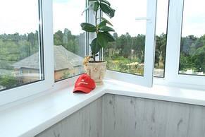 Внутренняя отделка балконом ламинатом
