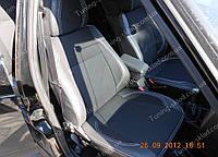 Чехлы на сиденья Лада Приора (чехлы из экокожи Lada Priora стиль Premium)