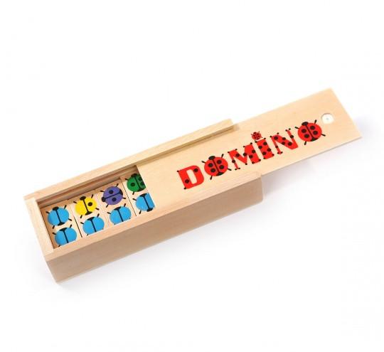 Деревянная игрушка МДИ Домино Божья Коровка (Д087)