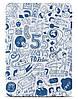 "Интересный чехол для планшета 9.7"" OZAKI O! coat-Relax 360° iPad Air (Blue) OC113BU"