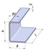 Швеллеры  неравнополочные 09Г2Д