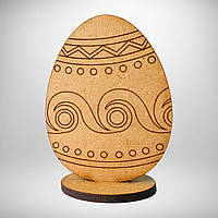 Пасхальное яйцо заготовка деревянная, фото 1