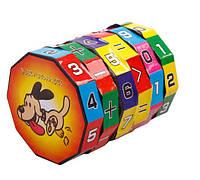 Математичний числовий десятигранник головоломка для дітей SKU0000219