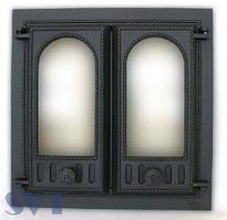 Каминная дверца 2-х створчатая SVT 401