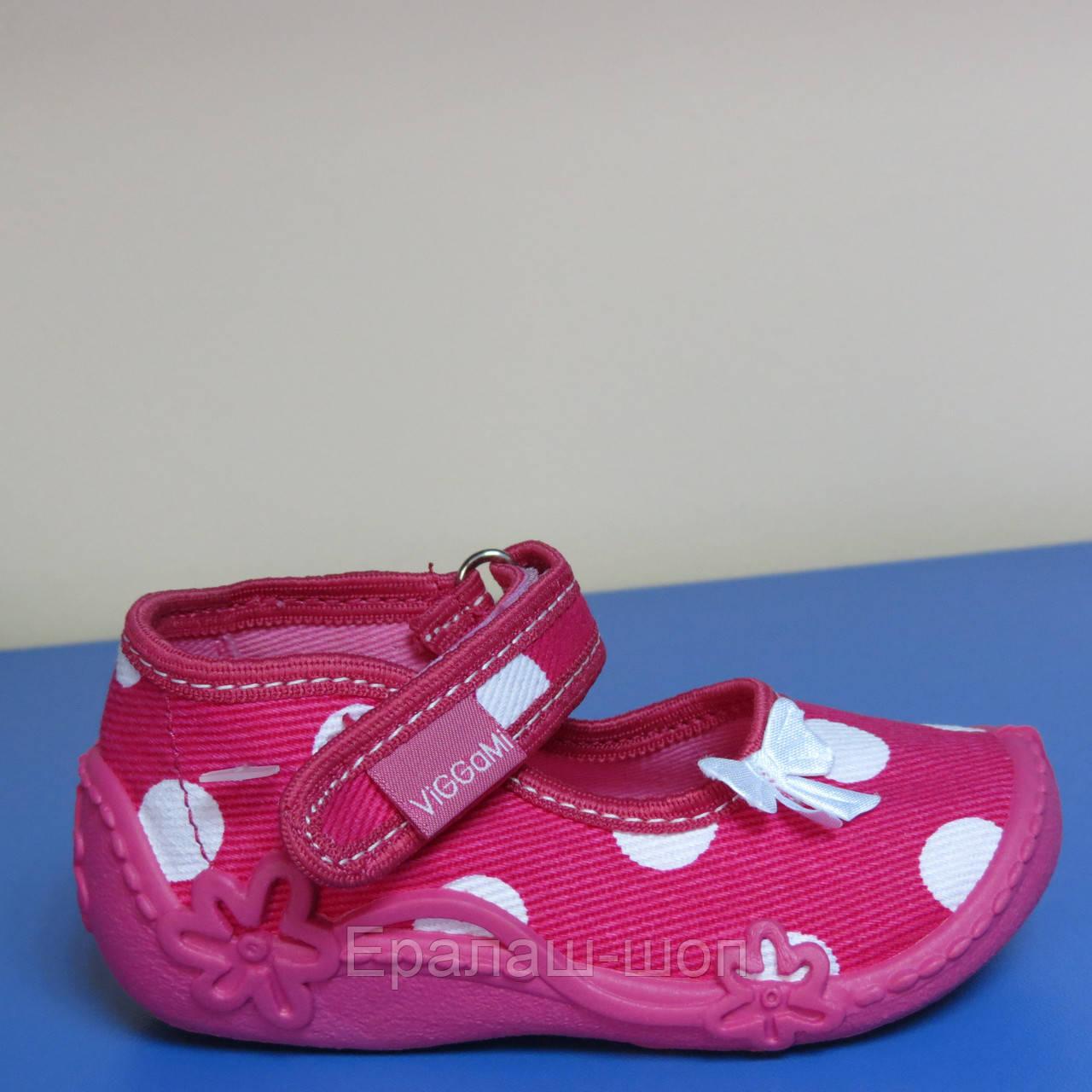 b2c51fcd1 Распродажа!Текстильная обувь для девочки Польша Viggami р.18(11см стелька)