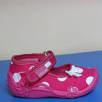 Текстильная обувь для девочки Польша Viggami р.18;р.27
