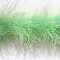Боа пух, D 6-7 см зеленый